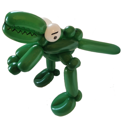 Crocodile Balloon